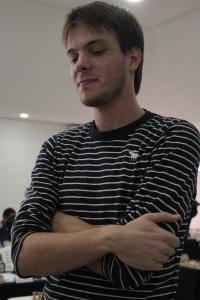Rony Giesseler (2170) é pré 1 do torneio: 1,5/2